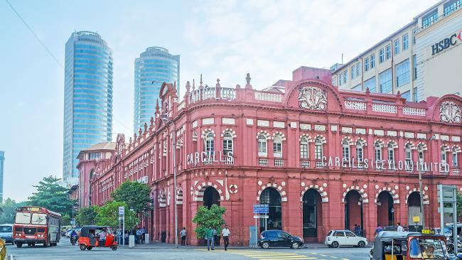Cargills Department Store, rumoured to shortly become a Raffles hotel.